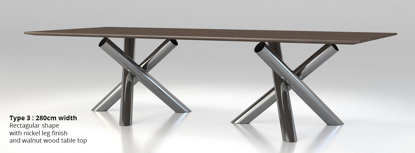 Minotti Van Dyck dining table by widhimuttaqien 3DOcean : productimage003 from 3docean.net size 1355 x 500 jpeg 135kB