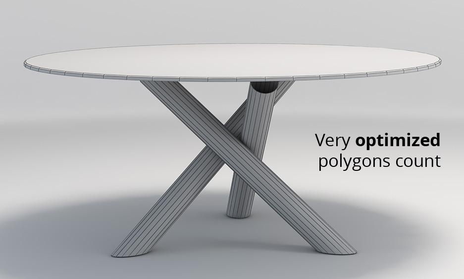 Minotti Van Dyck dining table by widhimuttaqien 3DOcean : wire003 from 3docean.net size 937 x 565 jpeg 83kB