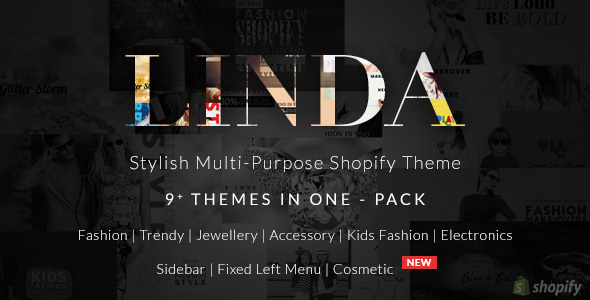 Shopify Multi Purpose Theme - Linda