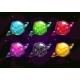 Bright Colorful Fantasy Planets