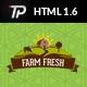 Farm Fresh - Organic Products HTML Template