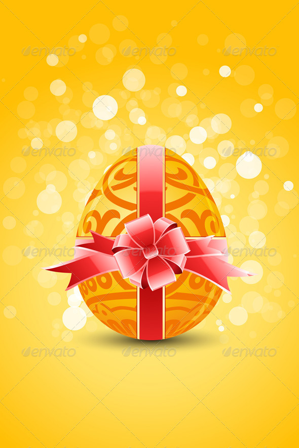graphicriver golden egg with ornament decoration 1693534