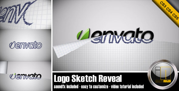 VideoHive Logo Sketch Reveal 1693655