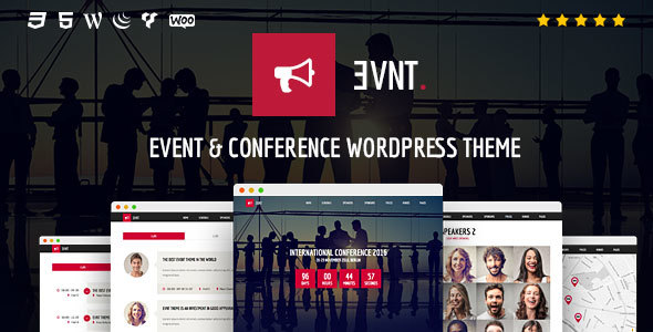 Download Evnt - Event & Conference WordPress Theme nulled download