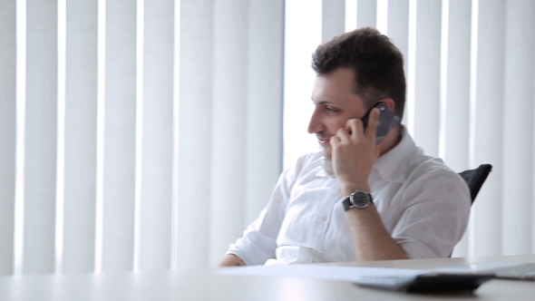 Download The Businessman Talking On The Phone nulled download