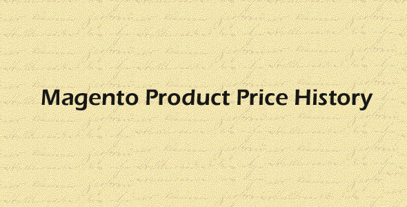 Magento Product Price History
