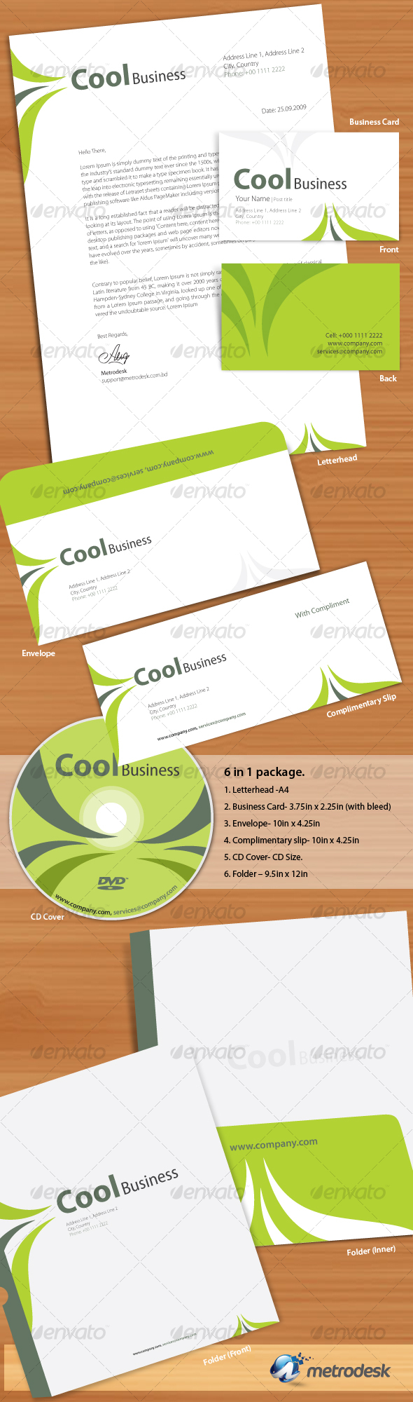 Cool Corporate Identity