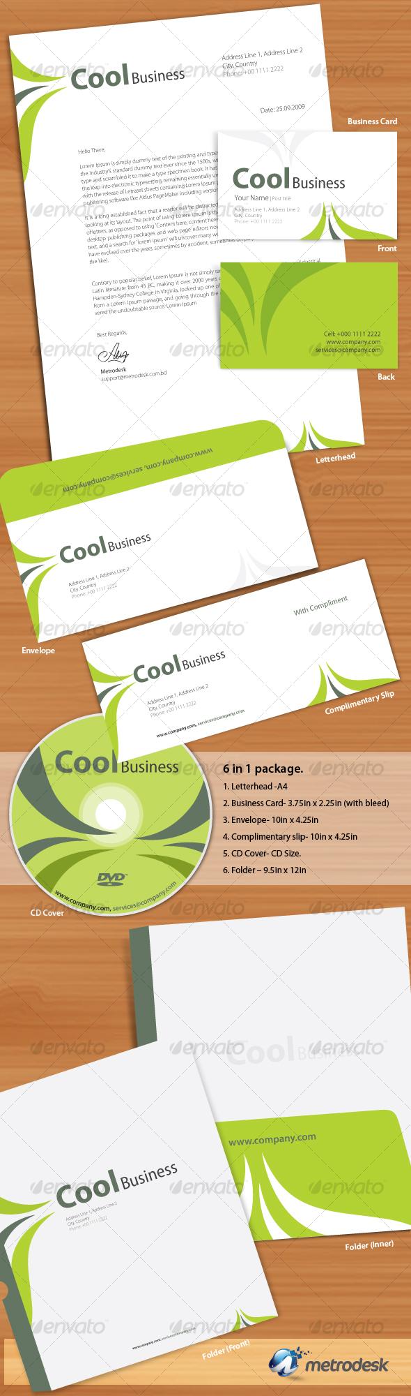 Cool Corporate Identity
