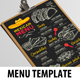 Mexican Menu Template-Graphicriver中文最全的素材分享平台