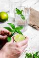 Invigorating summer drink
