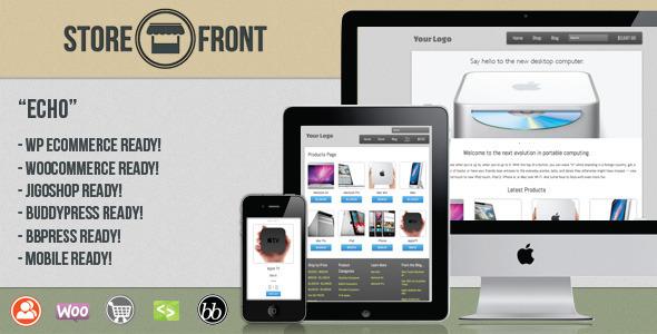 ThemeForest Storefront Echo Responsive BuddyPress eCommerce 1679675