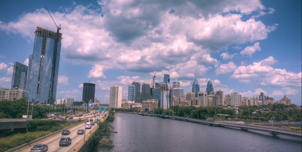 VideoHive Philadelphia Skyline HDR 17007022