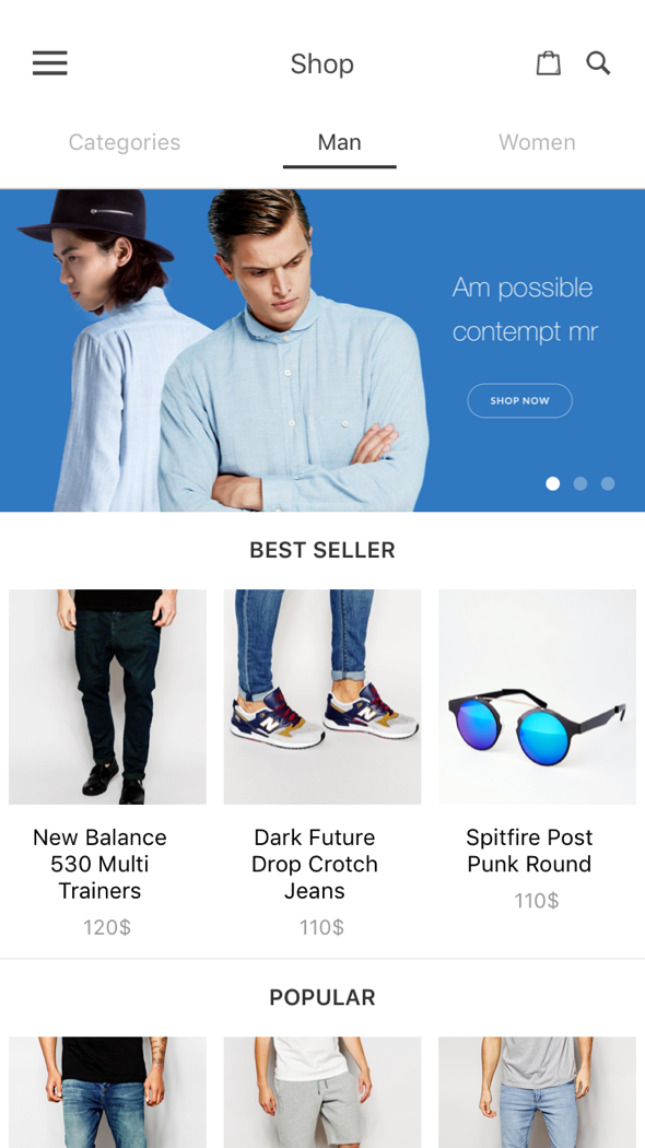 Download BeoStore - Complete React Native template for e-commerce nulled download