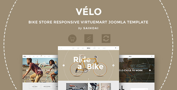 00 preview.  large preview - Velo - Bike Store Responsive VirtueMart Template