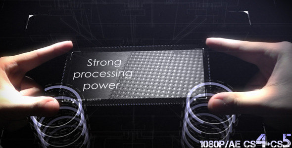 After Effects Project - VideoHive Tech Hands Interface 1694526