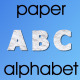 Paper Alphabet - VideoHive Item for Sale