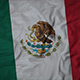 Ruffled Flag of Mexico
