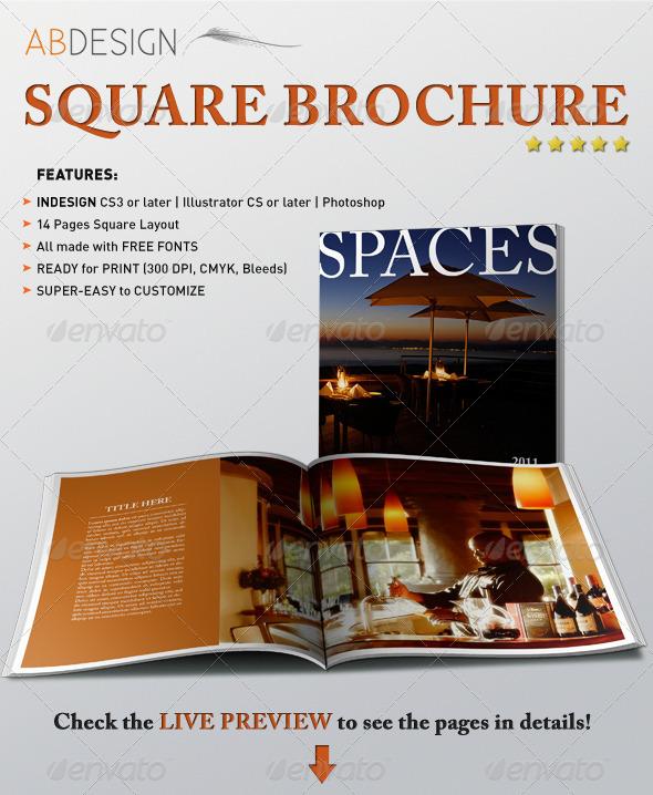 GraphicRiver Square Brochure Booklet 179230