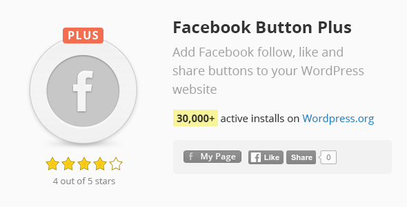 Download Facebook Button Plus nulled download