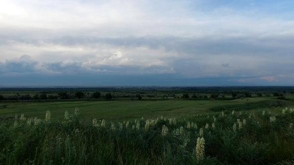 VideoHive Flying Over Fields in Kazakhstan 17014964