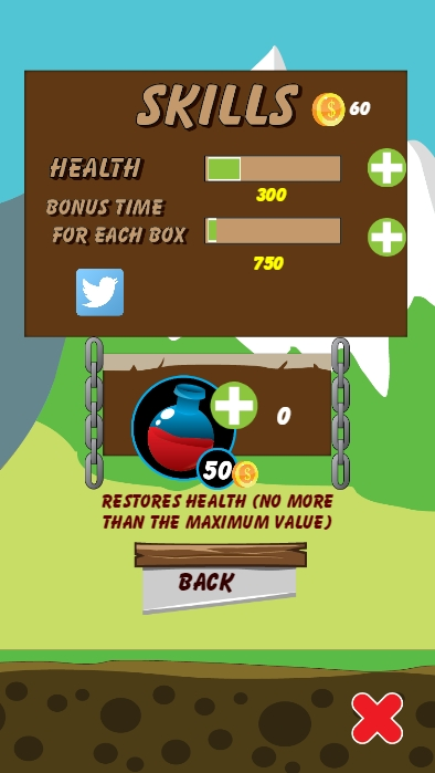 Ruin tower - HTML5 Android (CAPX)  - 2