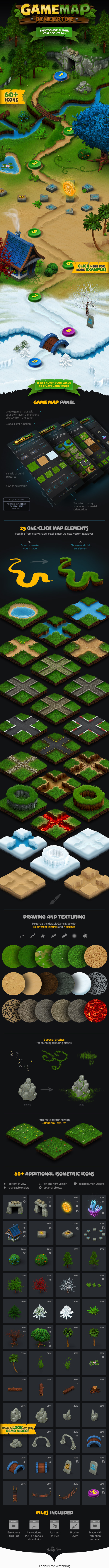 Graphicriver Game Map Generator 17015466