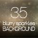 Blurry Sparkles Background 01