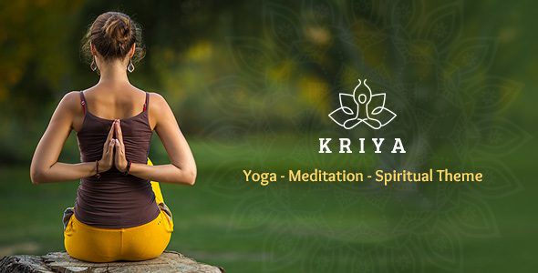 Download Kriya - Yoga WordPress Theme nulled download