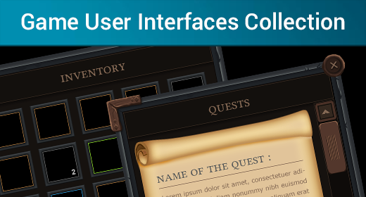 Game User Interfaces Collection