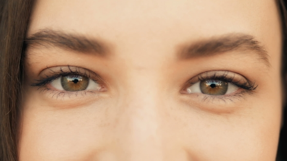 Download  Of a Woman's Face. Beauty Shot. Beautiful Eyes  Outdoors, Beauty Concept nulled download