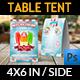 Ice Cream Table Tent Template Vol.3