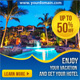 Multipurpose Hotel and Travel Web Ad Banners