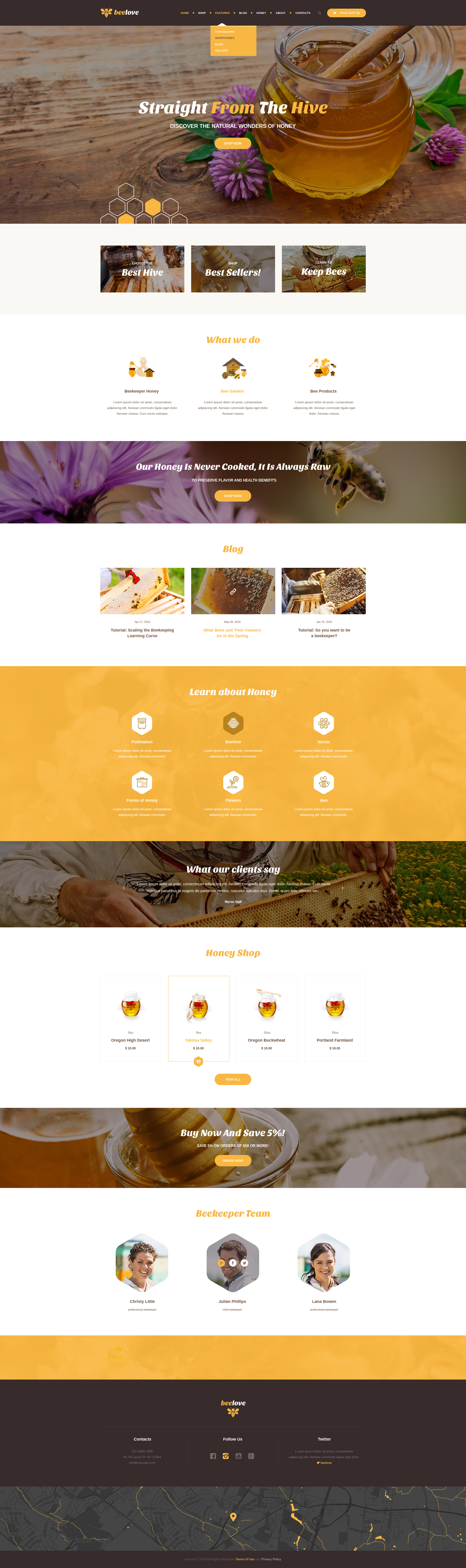 Beelove Honey Production And Online Store By