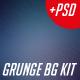 Digital Storm Grunge Background Kit