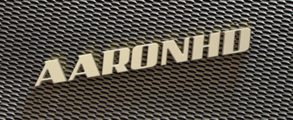 Aaronhd newlogo videohive banner