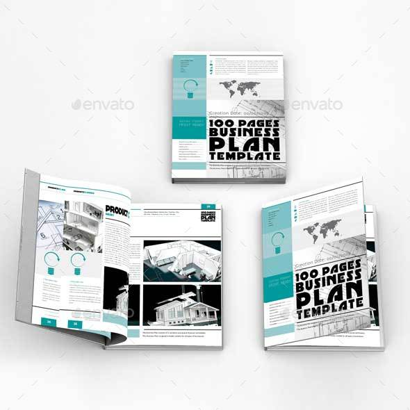Business plan template for pages