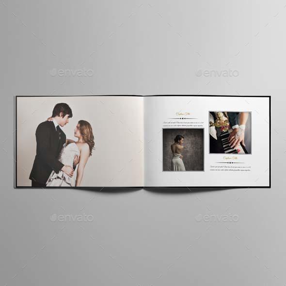 wedding photo album template by keboto graphicriver. Black Bedroom Furniture Sets. Home Design Ideas