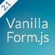 Vanilla Form - Modern & Responsive Contact Form