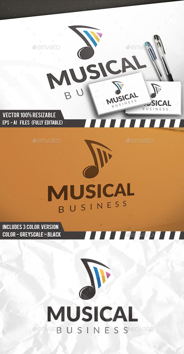 Music Note Player Logo