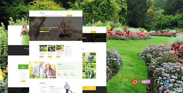 Garden - Lawn & Landscaping Theme