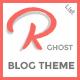 Ramble-List - A Responsive Ghost Blog Theme
