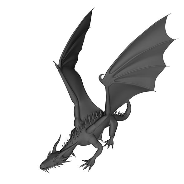 3DOcean Dragon 17049022