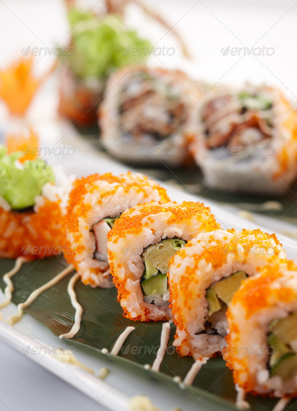 california roll - Stock Photo - Images