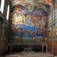 Sistine Chapel Interior Low Poly