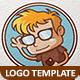 Technology Geek Logo Template