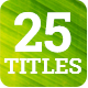 25 Minimalist Lower Thirds and Titles
