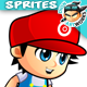 2D Game Character Sprites 233