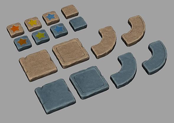 3DOcean board stone 17054615