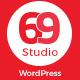 SixtyNineStudio - Creative Agency WordPress Theme