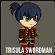 Swordman : Trisula Spritesheet Character